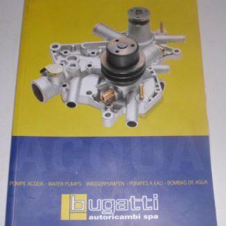 Bugatti Ersatzteilkatalog Katalog PKW Wasserpumpen GS1364
