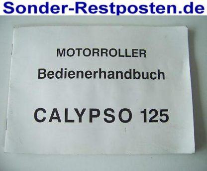 CALYPSO 125 Ersatzteile Teile Bedienungsanleitung