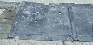 DAF 400 DAF400 Teile Teppich Gummimatte