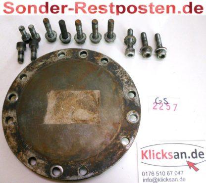 Delmag Stampfer HVD 813 HVD813 Bodenplatte Deckel GS2257