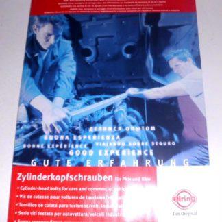 Elring Zylinderkopfschrauben Ersatzteilkatalog Katalog PKW LKW NKW GS1365