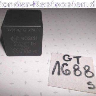 Ford Cargo Teile Relais Bosch 12.V GS1688