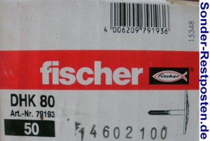Fischer Dämmstoffhalter DHK 80 Karton 50 Stück GM147