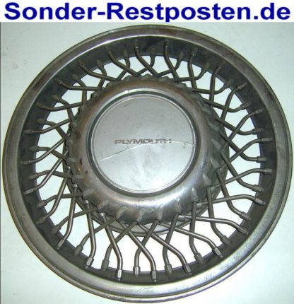 RADABDECKUNG Radkappe CHROM Chrysler Voyager Plymouth | GM89