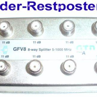 Verteiler GTN GFV8 8 x 11dB 8-way Splitter 5-1000 MHz | GS166
