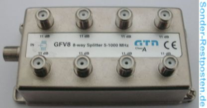 Verteiler GTN GFV8 8 x 11dB 8-way Splitter 5-1000 MHz | GS166