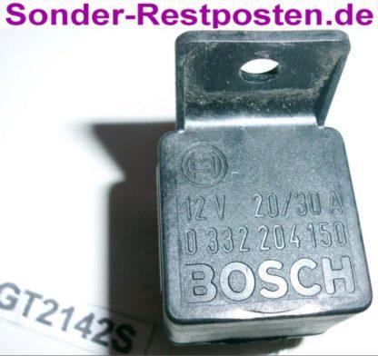 Ford Cargo 0813 Relais Bosch 0332204150 12V 20/30A | GS2142