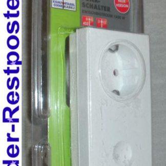 Funk Schalter DÜWI 05397 Neue Version 1500 Watt Zwischenstecker GS820