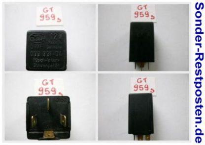 FORD CARGO 0813 Hella Relais 00393104 | GS959