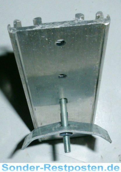 Halter Halterung Montageplatte Heizkostenverteiler 115 x 38,5 x 7   GS2053