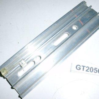 Halter Halterung Montageplatte Heizkostenverteiler 118 x 38 x 8 | GS2056