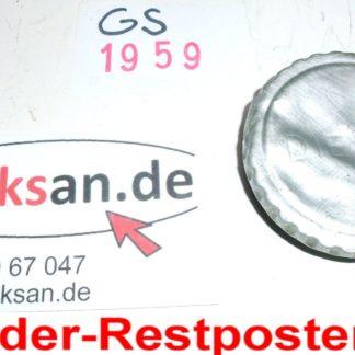 Hatz Diesel E85 E 85FG G Teile Tankdeckel GS1959