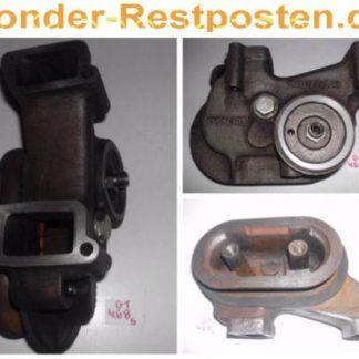 Hatz Diesel Motor 2L41C 2L 41C Teile Ansaugkkümmer
