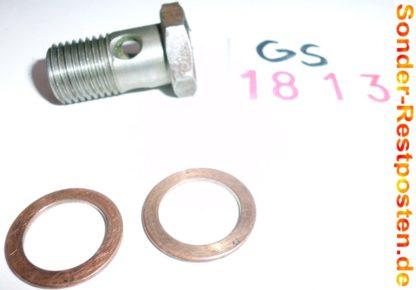 Hatz Motor E 75 ES Ersatzteile Schraube Tank GS1813