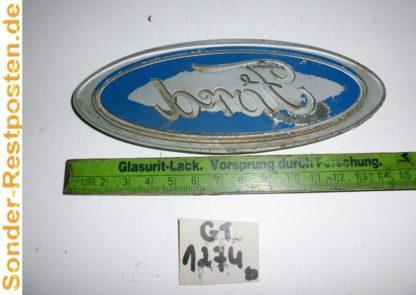 IVECO SZM 220-32 Turbo Ez 91 Teile: Ford Emblem Fordpflaume vorne GT1274S