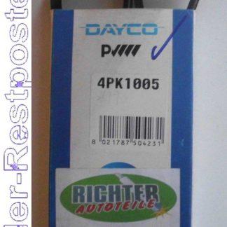 Keilrippenriemen Dayco 4PK1005 | NT256