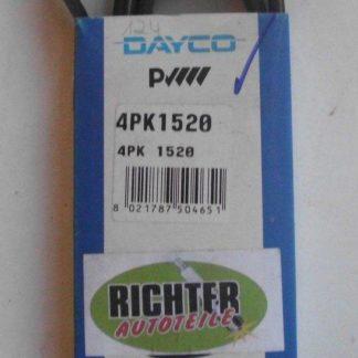 Keilrippenriemen Dayco 4PK1520 | NT263