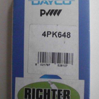 Keilrippenriemen Dayco 4PK648 | NT237