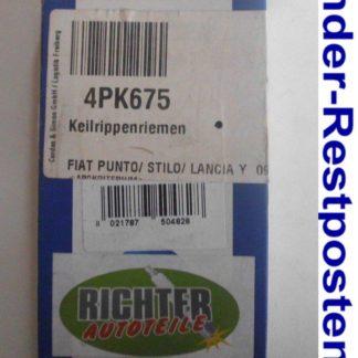 Keilrippenriemen Dayco 4PK675 | NT239