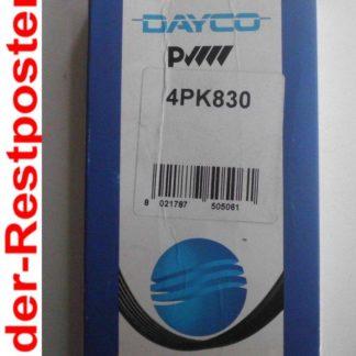 Keilrippenriemen Dayco 4PK830 | NT246