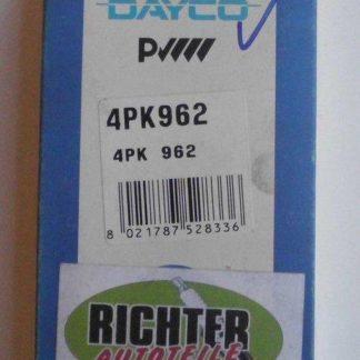 Keilrippenriemen Dayco 4PK962 | NT254