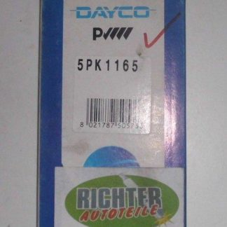 Keilrippenriemen Dayco 5PK1165 | NT285