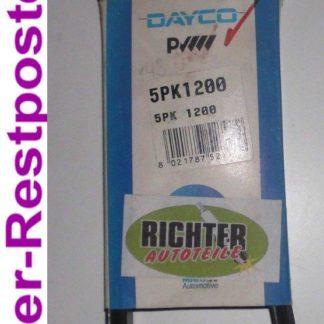 Keilrippenriemen Dayco 5PK1200 | NT286