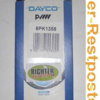 Keilrippenriemen Dayco 5PK1355 | NT370