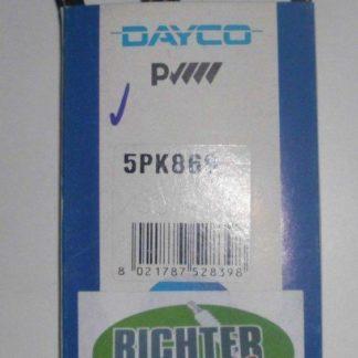 Keilrippenriemen Dayco 5PK869 | NT270