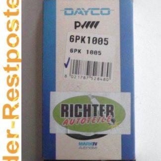 Keilrippenriemen Dayco 6PK1005 | NT302