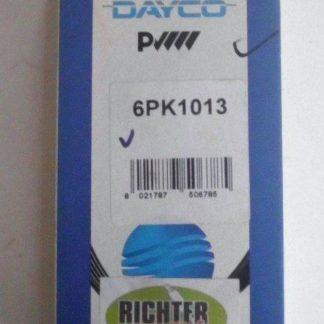 Keilrippenriemen Dayco 6PK1013 | NT303