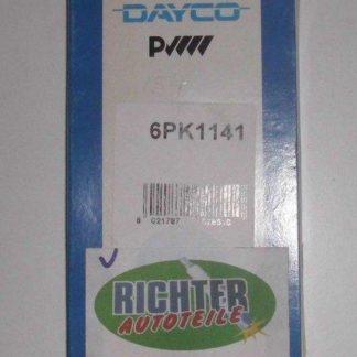 Keilrippenriemen Dayco 6PK1141 | NT309