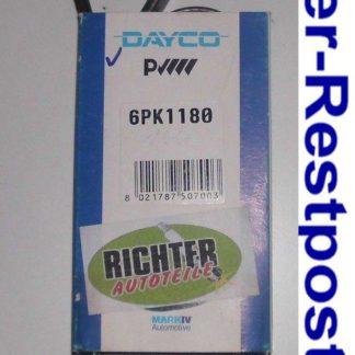 Keilrippenriemen Dayco 6PK1180 | NT312