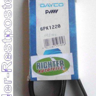 Keilrippenriemen Dayco 6PK1220 | NT372