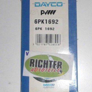 Keilrippenriemen Dayco 6PK1692 | NT332