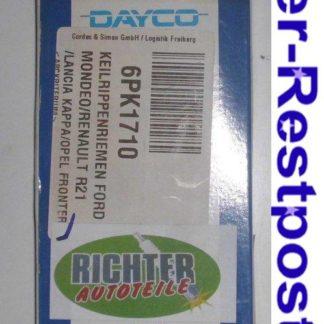 Keilrippenriemen Dayco 6PK1710 | NT334