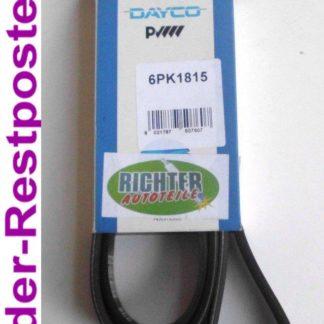 Keilrippenriemen Dayco 6PK1815 | NT377