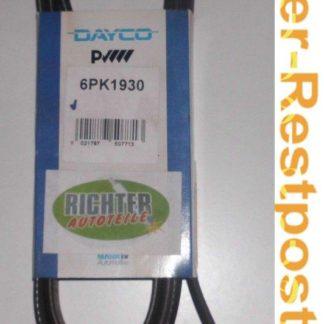 Keilrippenriemen Dayco 6PK1930 | NT344