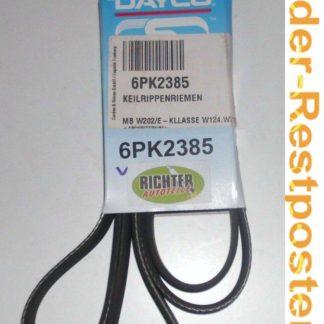Keilrippenriemen Dayco 6PK2385 | NT360