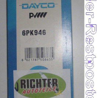 Keilrippenriemen Dayco 6PK946 | NT321