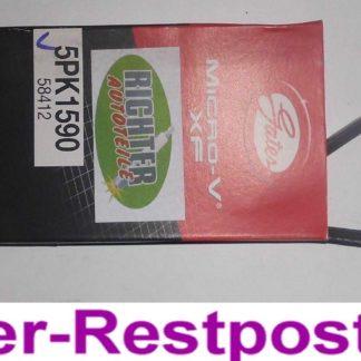 Keilrippenriemen Gates 5PK1590 58412 | NT290