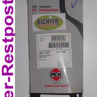Keilrippenriemen PEX 201127 4PK1230 | NT260