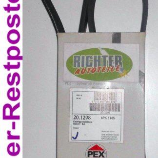 Keilrippenriemen PEX 201298 6PK1165 | NT311