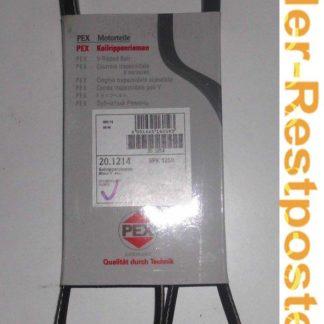 Keilrippenriemen PEX 5PK1250 201214 | NT288