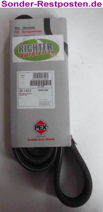 Keilrippenriemen PEX 7DPK1360 201453   NT407