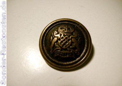 Knopf mit Schönen Wappen GS1787