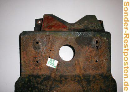 LKW IVECO SZM 220-32 Turbo Ez 91 Teile: hier Kennzeichenhalter Schutzblech hinten links | GM139