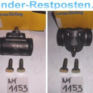 Radbremszylinder Bremszylinder Radzylinder Opel Kadett E Lucas BWC114 NT1153