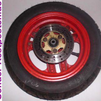MBK Roller Motobecane 080 4MU Teile, hier Felge vo. neuw. Reifen 100/80 10 53L | GM004