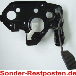 Opel Astra F Teile Gaspedal mit Halteplatte